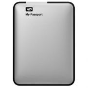 Western Digital WDBY8L0020BSL-NESN My Passport 2TB Portable External Hard Drive Storage USB 3.0 Silver