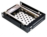 COSMOS ® Double Mobile rack/tray/bay/slot for 2x 2.5 internal HDD Hard Drive+Cosmos Cable Tie