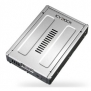 ICY DOCK Removable Storage Device 2 X Bay 2.5inch SATA RAID To 3.5inch Drive Bay SECC Retail New