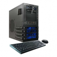 CybertronPC QuattroMax GM3142B Gaming Desktop (Black)