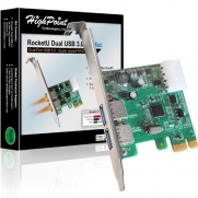 RocketU HighPoint Dual USB 3.0 for Mac Components