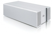 Macally NSA2S350NAS Hi-Speed Gigabit Network Attached Storage Enclosure for Dual 3.5-Inch SATA HDD (Silver)