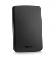 Toshiba Canvio Basics 1TB Portable Hard Drive- Black (HDTB310XK3AA)