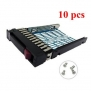 10pcs Hard Drive Tray Caddy for HP Proliant BL20p G4 BL25p G2 BL45p G2 BL460c BL465c BL480c BL685c Replacement for HP Compaq 378343-002