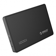ORICO 2588US3 Tool Free USB 3.0 External Hard Drive Enclosure for 2.5 SATA HDD and SSD - Black