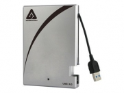 Apricorn Aegis Portable 3.0 USB 3.0 Portable 256GB SSD with Integrated USB Cable (A25-3USB-S256)